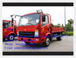 China HOWO 4X2 LHD Light Duty Cargo Truck Light Pickup Truck - China ...