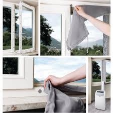 kit evacuation climatiseur mobile kit d évacuation porte et fenêtre pour climatiseur mobile cak002