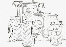 Coloriage Tracteur Et Remorque Dessin De Tracteur Fendt A Imprimer