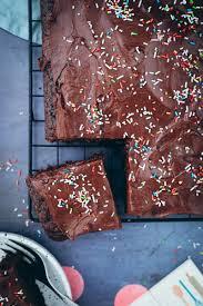 schokoladenkuchen vom blech rezept zucker zimt und liebe
