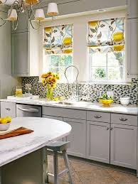 Curtains Pictures Of Kitchen Decorating Gray