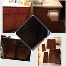 Gel Stain Cabinets Pinterest by 97 Best Stained Cabinets Images On Pinterest Gel Stains Stain