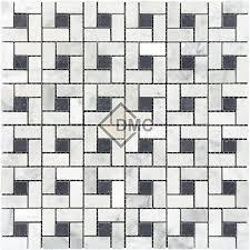 carrara pinwheel black dot darunfar marble corporation