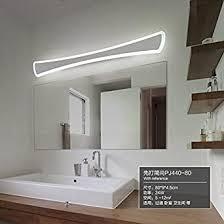 liuyanning modernes badezimmer wc led leuchten spiegel bad