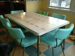1950 Kitchen Table And Chairs Inspiring Retro Set