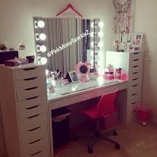26 Makeup Storage Desk Furniture Makeup Desk Vanity Lighted