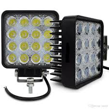 4 Inch 48w Led Work Light Lamp Indicators Worklight Working Driving ... Best Led Spotlights For Trucks Amazoncom Truck Lite Led Spot Light With Ingrated Mount 81711 Trucklite Rigid Industries D2 Pro Flush Mount Lights 1513 Senzeal 5d 90w 9000lm Cree Chip Flood Beam Offroad Work Great Whites Lights 4wds Cars 2x 4inch 1800lm 18wcree Led Bar Spotflood Lamp Green Hunting Fishing 10 Inch High Power For Vehicles 18w Cree Pod Fog Jeep Off Trucklitesignalstat 4x6 In 1 Bulb 1450 Lumen Black Rectangular 4 Inch 27w Round Amber Ligh 1030v Rund 35w Driving 3 Road Bars Trucks Offroad Sale