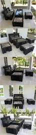 Threshold Patio Furniture Cushions by Best 25 Outdoor Furniture Set Ideas On Pinterest Rattan Outdoor