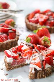 No bake mini strawberry pies