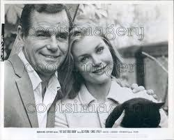 Desk Set 1957 Cast by Actors Gig Young Carol Lynley In The Shuttered Room Press Photo