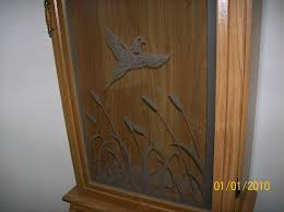 Wooden Gun Cabinet With Etched Glass by Wts Wtt Glass Front Gun Cabinet