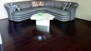 Dark Stained Tigerwood Exotic Plank Hardwood Floor