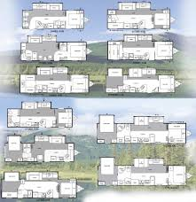 Travel Trailer Floor Plans With Bunk Beds by Keystone Springdale Travel Trailer Floorplans Large Picture