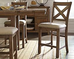 Large Moriville Counter Height Bar Stool Rollover