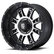 100 Xd Truck Wheels 18 KMC XD Riot Black Rims 6x55 6 Lug Chevy GMC Toyota