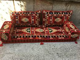 details zu orientalische sitzecke shisha deko arabisches sofa kilim sofa orient möbel