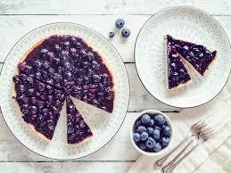 tarte mit blaubeeren