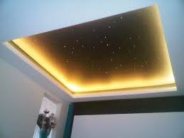 Fibre Optic Ceiling Lighting by Home Cinema Lighting Project 5