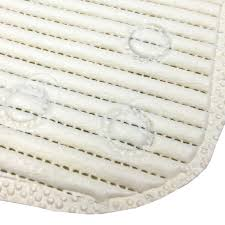 Bathtub Mat No Suction Cups by Non Slip Soft Cushioned Bath Mat With Suction Grip Cups Durable