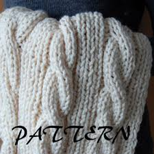 Cable Knit Throw Pottery Barn by Knitting Pattern Cable Knit Leg Warmers From Lulupattern On