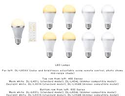 sharp s new led light bulb features adjustable brightness remote