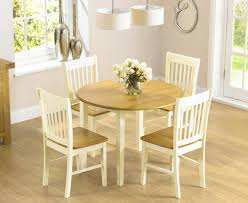 Genoa 100cm Drop Leaf Extending Dining Table Set With Chairs The Photo Of Sets