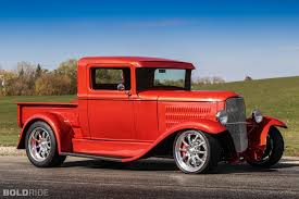1930 Ford Model-A Pickup Model Custom Hot Rod Rods Retro Truck ...