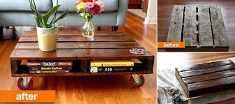 Coffee Tables Made Out Of Pallets