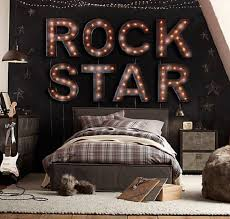 Soccer Themed Bedroom Photography by Rock Star Bedroom 10 Amazing Music Themed Bedrooms Http Www