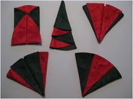 serviette de noel en papier pliage de serviette en papier pour noel ikeasia