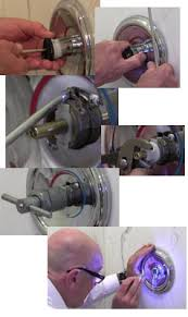 Faucet Handle Puller Definition by How To Repair A Moen Posi Temp Shower Valve