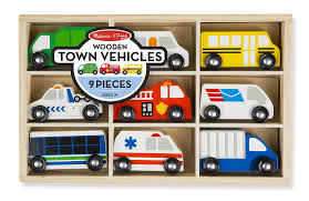 Amazon.com: Melissa & Doug Wooden Town Vehicles Set In Wooden Tray ... Amazoncom Melissa Doug Whittle World Farm Set Wooden Fire Truck With 3 Firefighter Wvol Friction Powered Garbage L Unboxing Youtube Bruder Scania Rseries Orange The Play Room And Magnetic Car Loader Christmas Gifts For My First Tonka Mini Wobble Wheels Toysrus Fast Lane Light Sound Green Dickie Toys Germany American Air Pump Garbage Truck Unboxing Action Top 10 Trucks Compilation 2017 Pullback Cstruction Vehicles Soft Low Games