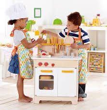 wooden play kitchen sets amazoncom naomi home kids gourmet