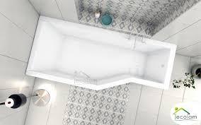 badewanne eckwanne raumspar integra 150x75 cm links