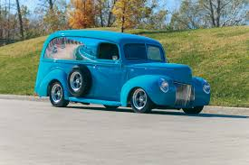 1940 Ford Panel Truck | Fast Lane Classic Cars 1948 Dodge Panel Truck Gaa Classic Cars Chevrolet For Sale On Classiccarscom Fichevrolet Truckjpg Wikimedia Commons 1940 Ford Fast Lane Eye Candy 1935 Panel Truck The Star 1956 S22 Indy 2016 F100 Gateway 11sct Rm Sothebys Hershey 2014 1947 Red Hills Rods And Choppers Inc St Seattles Parked 1959 For 1949 Chevy Van Powernation Week 47 Youtube