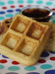 Bisquick Pumpkin Puree Waffles by Whole Wheat Waffles Weelicious