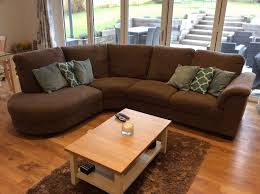ikea tidafors corner sofa hensta light brown covering good