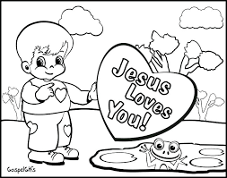 Christian Coloring Pages Free School Toddlers For Kids Crafts Bible Childrens