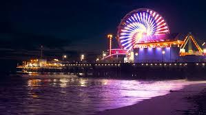 Stock Video Of Santa Monica Pier California Usa