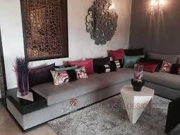tissu canapé marocain nouveau salon marocain moderne id es de d coration table manger