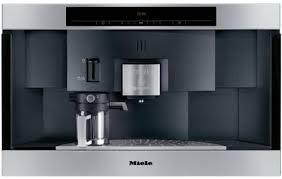 Miele CVA2662SSL 24 Inch Built In Nespresso Capsule Coffee Bean