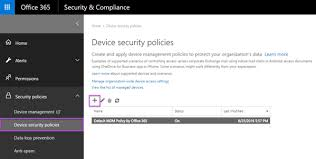 Set up Mobile Device Management MDM in fice 365 fice 365