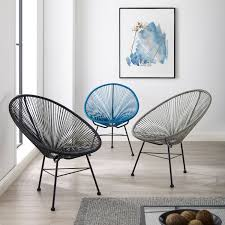 100 2 Chairs For Bedroom Html Shop Sarcelles Modern Wicker Patio By Corvus Set Of On