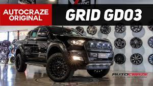 100 Truck Rims 4x4 THE TERMINATOR GRID GD03 Ford Ranger Wheels AutoCraze 2017