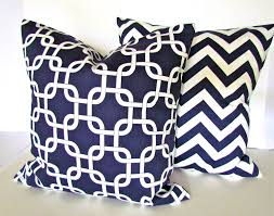 Large Decorative Couch Pillows by Here U0027s What People Are Saying About Blue And White Throw Pillows
