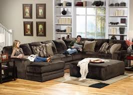 The Everest Sectional with Sofa Loveseat and Ottoman sold at