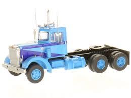 Trainworx 45035: LKW Peterbilt 350 Truck Blau. 1:160 - DM-Toys