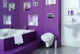 salle de bain mauve peinture salle de bain 80 photos qui vont vous faire craquer