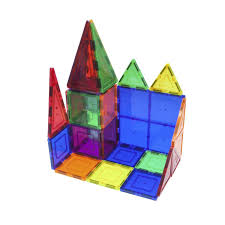 Magna Tiles 100 Piece Target by Full Steam Ahead Community Library Network