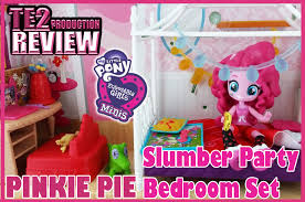 My Little Pony Bed Set by Review My Little Pony Equestria Girls Minis Pinkie Pie Slumber
